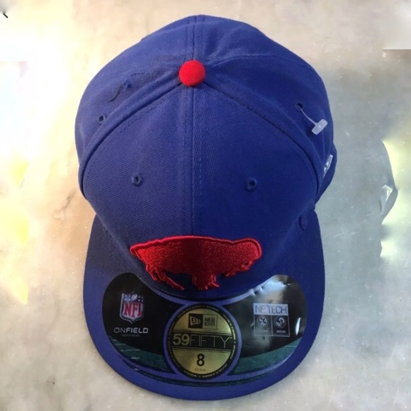 NWT Buffalo Bills New Era 59Fifty Snapback Cap 47b5d4c89114